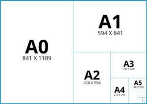 Wymiary arkuszy - format A | Sklepdruku.pl | Twoja drukarnia online